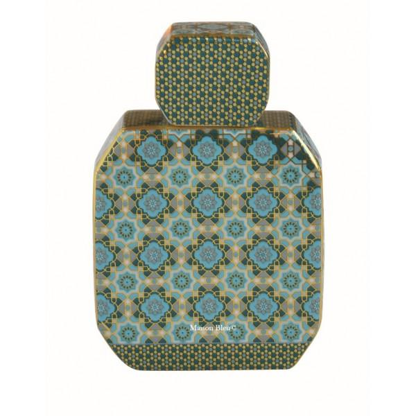 Diffusore Profumo Porcellana Ottagonale Piccolo Blu