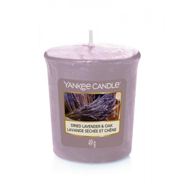 Dried Lavender & Oak Candela Votivo