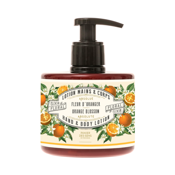 Crema Lozione Mani Corpo Fiore d'Arancio 300 ml