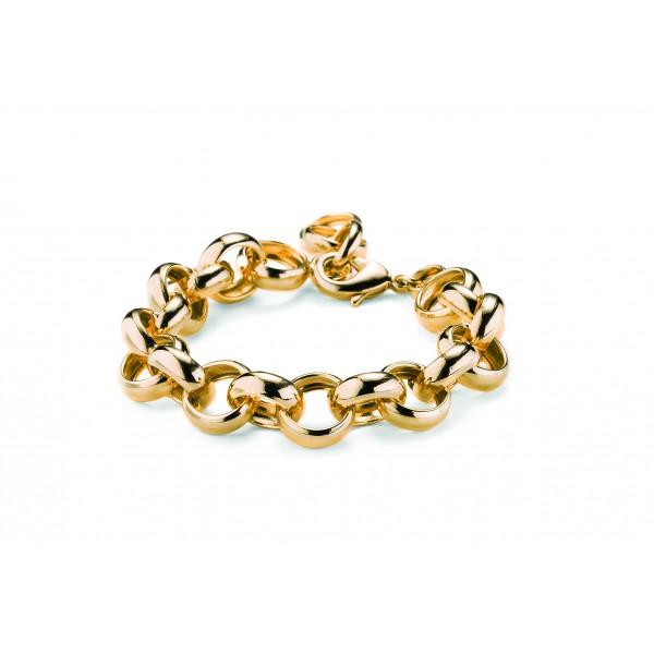 Bracciale catena piccola colore oro