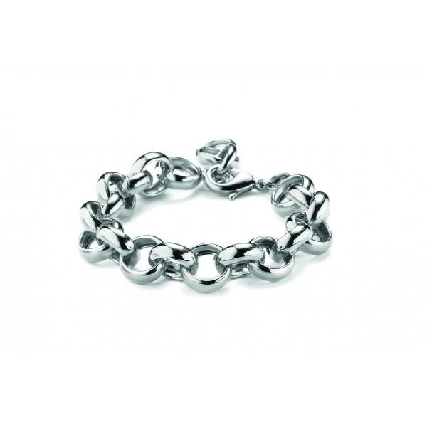 Bracciale catena piccola colore argento
