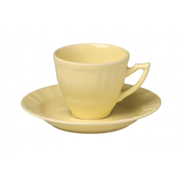 New Romantic giallo tazzina caffè