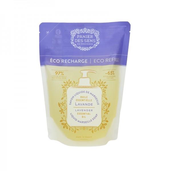 Eco-ricarica sapone liquido Marsiglia Lavanda 500 ml