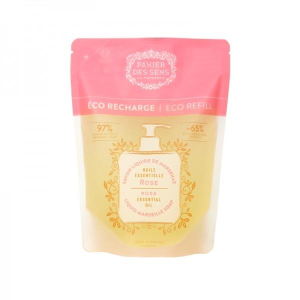 Eco-ricarica sapone liquido Marsiglia Rosa 500 ml