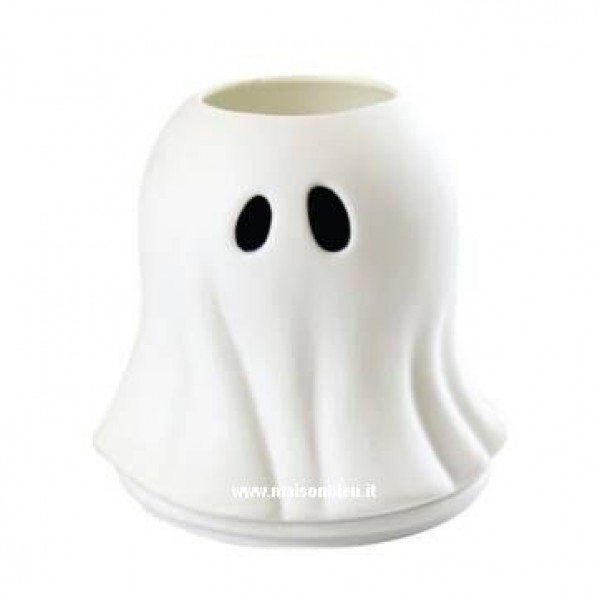 Glowing Gost Porta Candela Halloween
