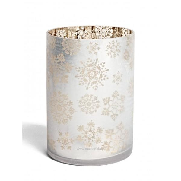 Vaso Porta Giara Snowflake Frost