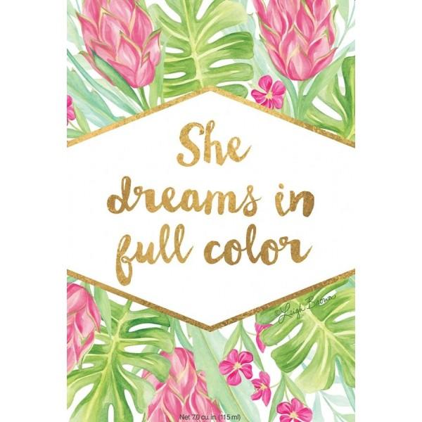 She Dreams in Full Color