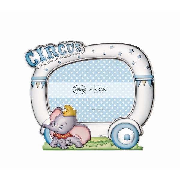 Cornice Portafoto Circus Dumbo Celeste
